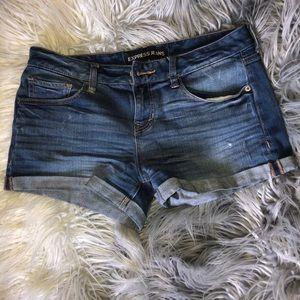 Your basic blue summer shorts